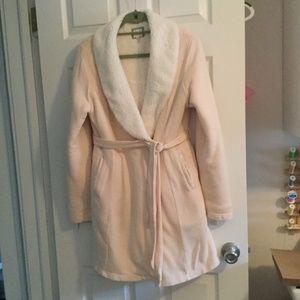 LEMON Collection   Ladies warm lounge short robe